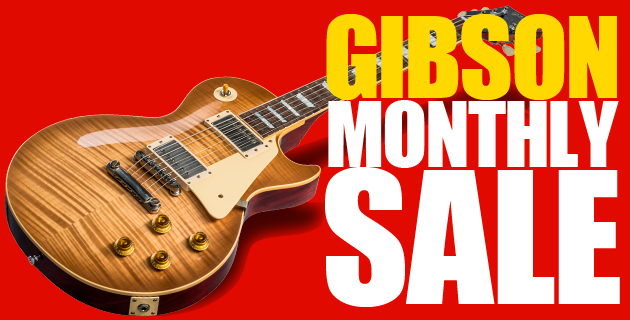 [Gibson Spring Sale]