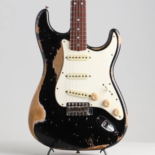 FENDER CUSTOM SHOP 1968 Stratocaster Heavy Relic Black Master Built By Jason Smith フェンダーカスタムショップ