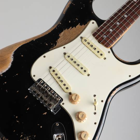 FENDER CUSTOM SHOP 1968 Stratocaster Heavy Relic Black Master Built By Jason Smith フェンダーカスタムショップ サブ画像10