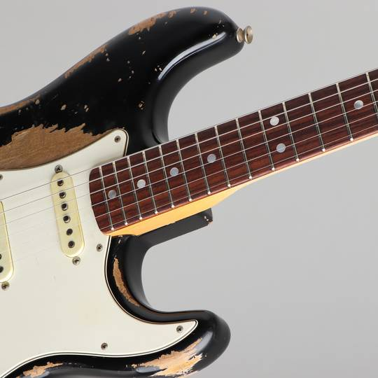 FENDER CUSTOM SHOP 1968 Stratocaster Heavy Relic Black Master Built By Jason Smith フェンダーカスタムショップ サブ画像11