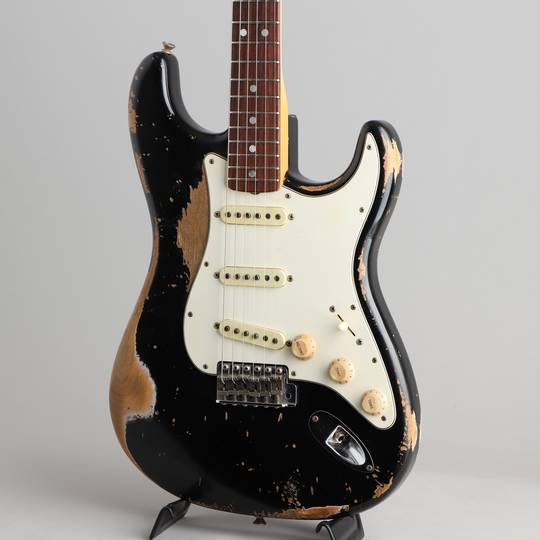 FENDER CUSTOM SHOP 1968 Stratocaster Heavy Relic Black Master Built By Jason Smith フェンダーカスタムショップ サブ画像8