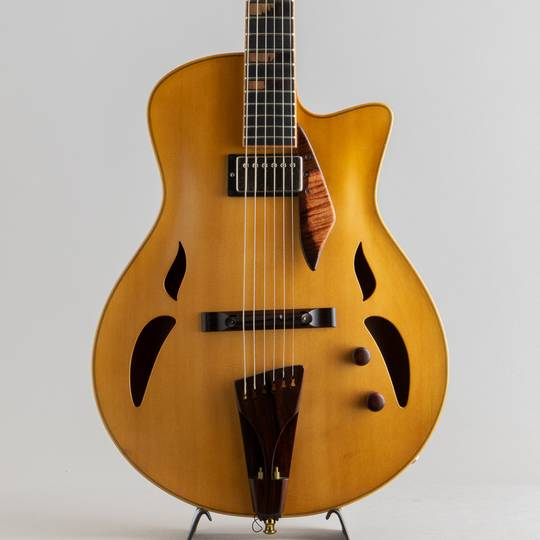 Yamaoka Archtop Guitars Strings Art JG-1 Natural  山岡ギターズ