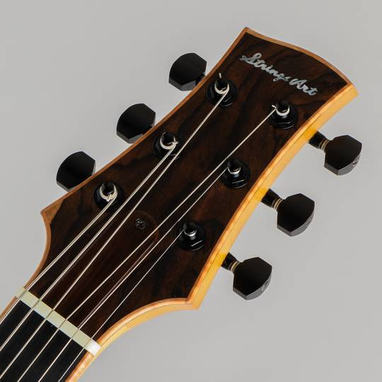 Yamaoka Archtop Guitars Strings Art JG-1 Natural  山岡ギターズ サブ画像4