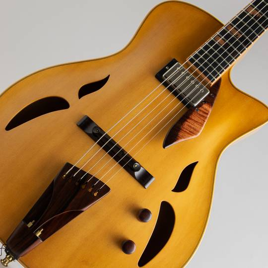Yamaoka Archtop Guitars Strings Art JG-1 Natural  山岡ギターズ サブ画像10