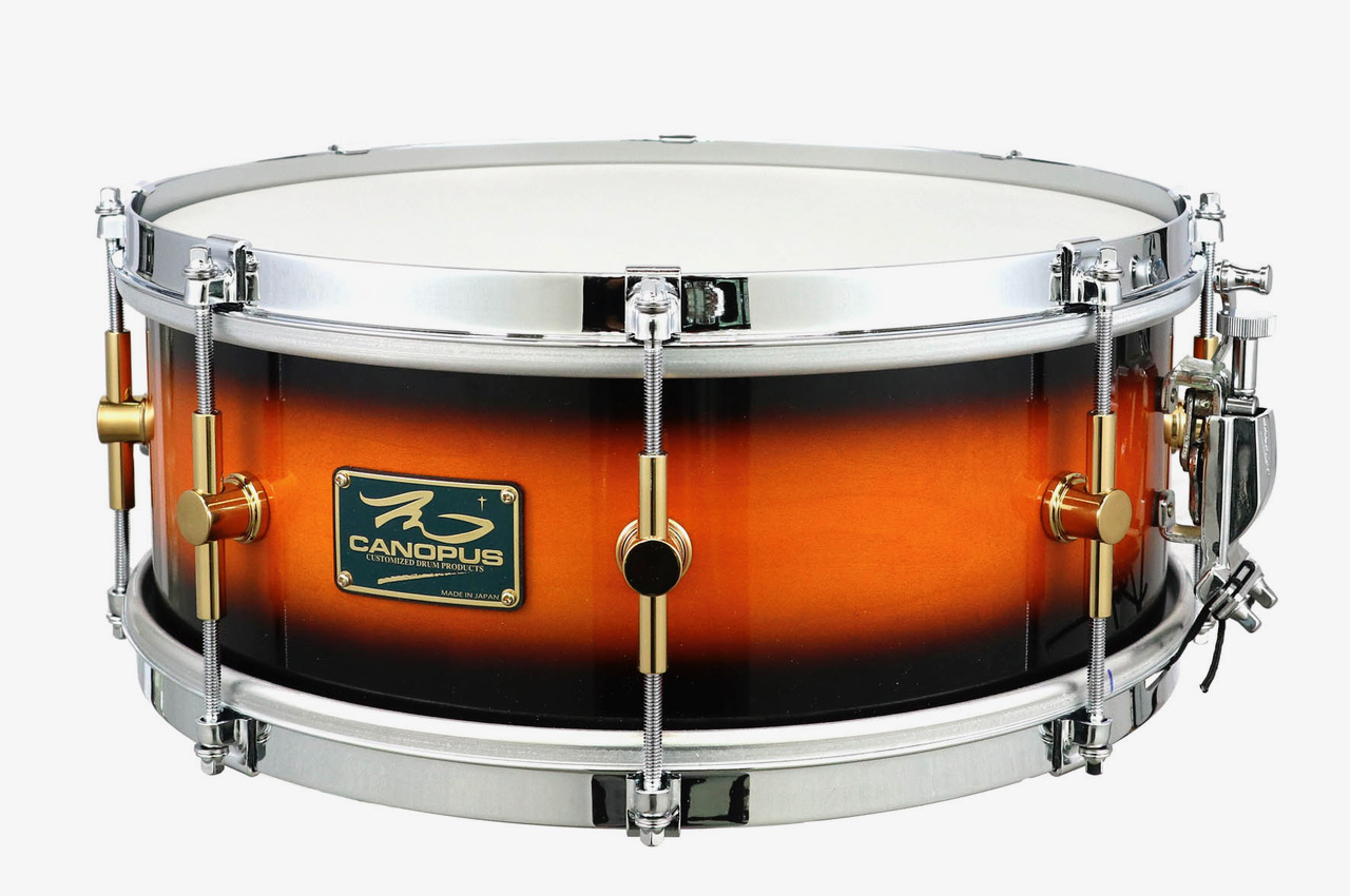M-1455 Tobacco Burst The Maple Classic Snare Drum / 限定モデル