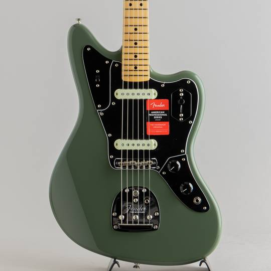 FENDER American Professional Jaguar Antigue Olive フェンダー