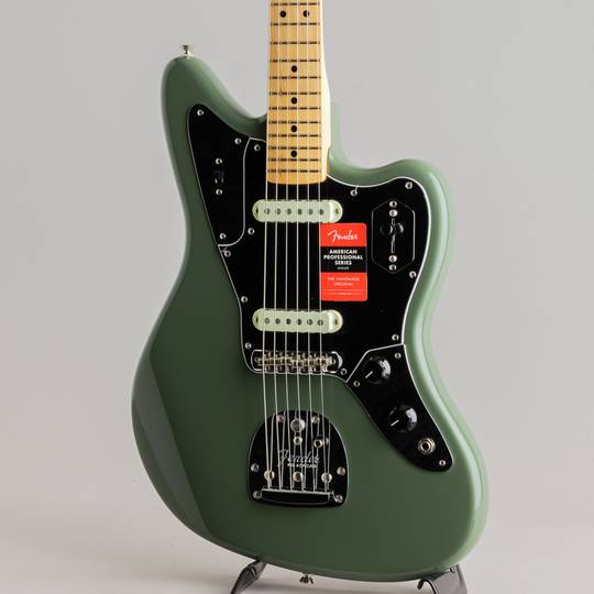 FENDER American Professional Jaguar Antigue Olive フェンダー サブ画像8