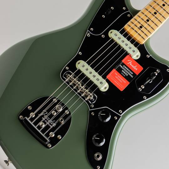 FENDER American Professional Jaguar Antigue Olive フェンダー サブ画像10