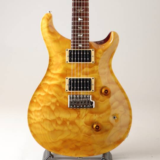 Custom24 10Top Quilt Brazilian Rosewood Finger Board Vintage Yellow 1991