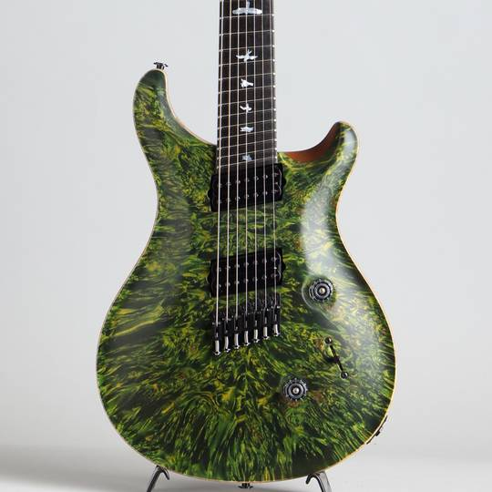 Private Stock #5777 Custom24 7 String Multi-scale Burl Maple Top Rainforest