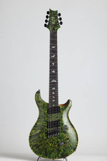 Paul Reed Smith Private Stock #5777 Custom24 7 String Multi-scale Burl Maple Top Rainforest ポールリードスミス サブ画像2