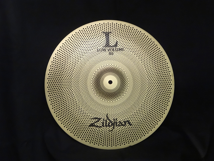 Zildjian L80 Low Volume 【消音シンバル・単品販売】L80 LOW VOLUME 16 CRASH  NAZLLV8016C L80 ローボリューム