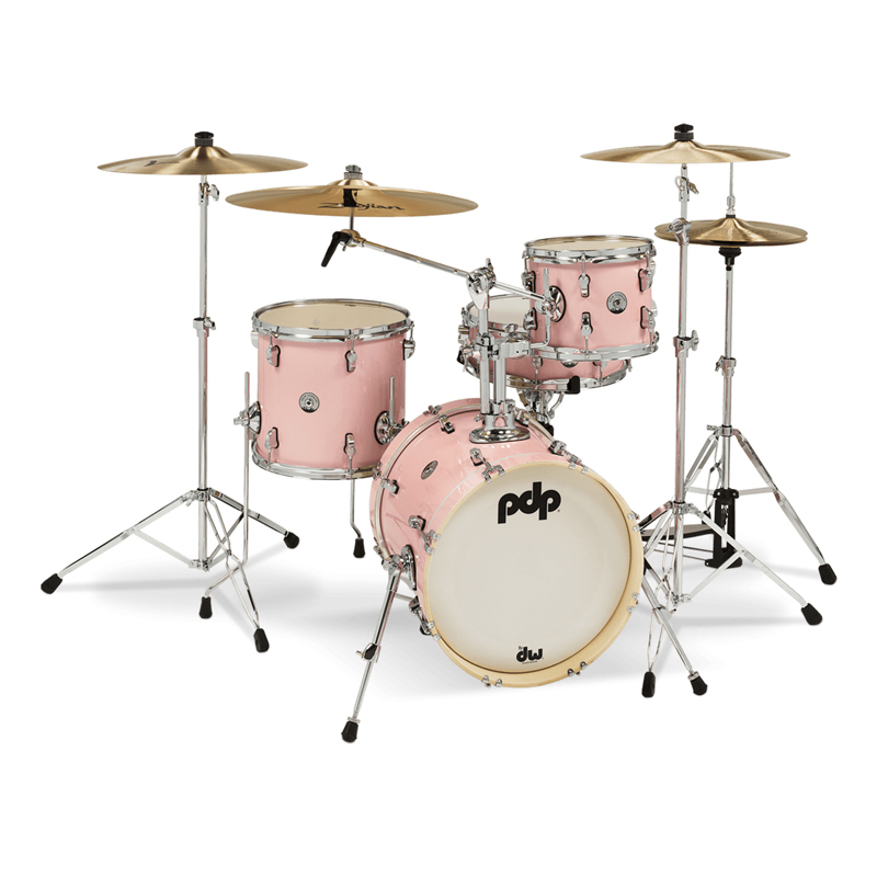 "PDNY1604/PR New Yorker Compact Kit 16"",10"",13"",14"" / Pale Rose Sparkle"