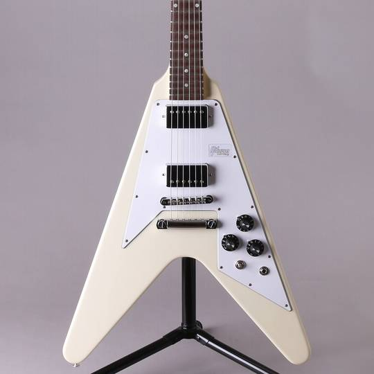Japan Limited Run 70's Flying V Dot Inlay Classic White Vintage Gloss【S/N:190065】