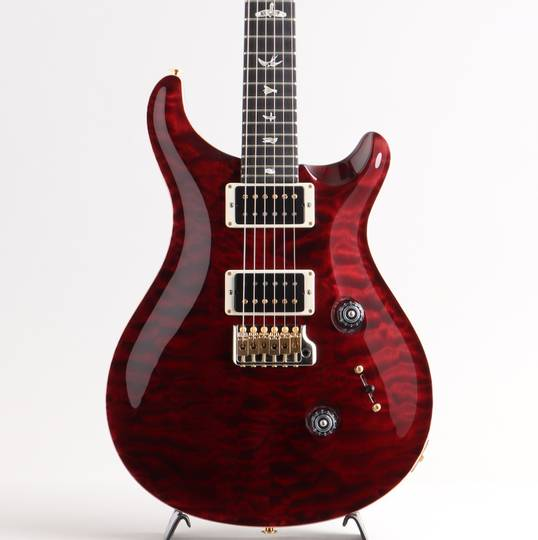 Custom 24 10Top Quilt Ebony PR Black Cherry 2017