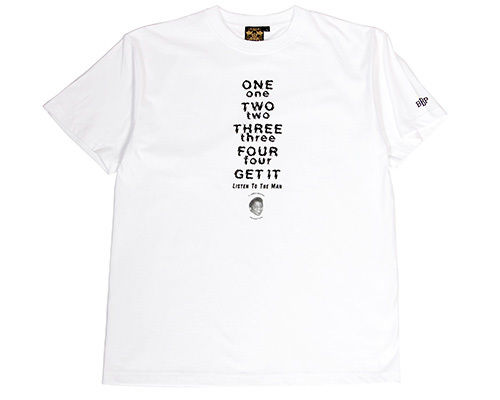 "James Brown x BBP ""Listen To The Man"" Tee WHITE"