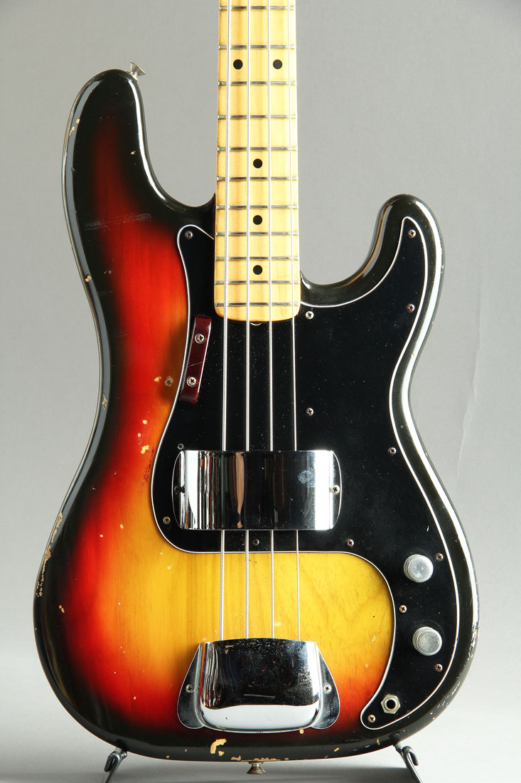Precision Bass Sunburst /Maple