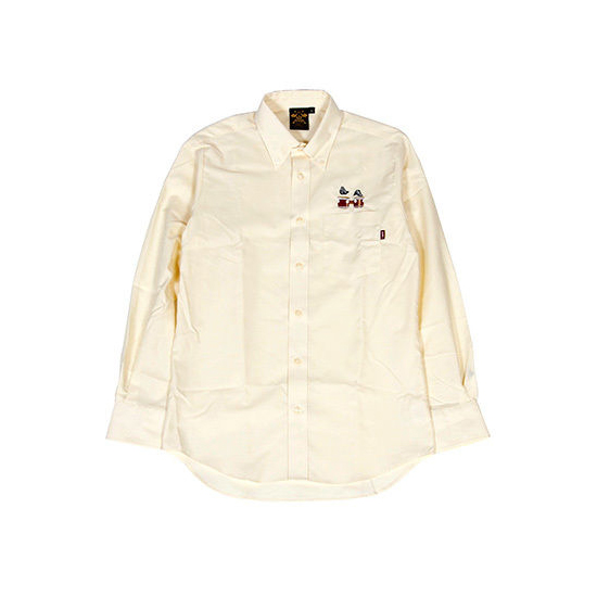 """Incredible Bongo"" Shirt / LIGHT YELLOW"