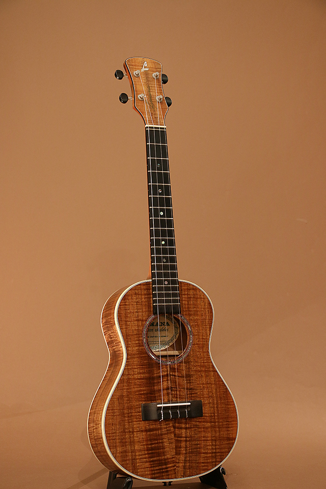 Figured Hawaiian Koa Tenor