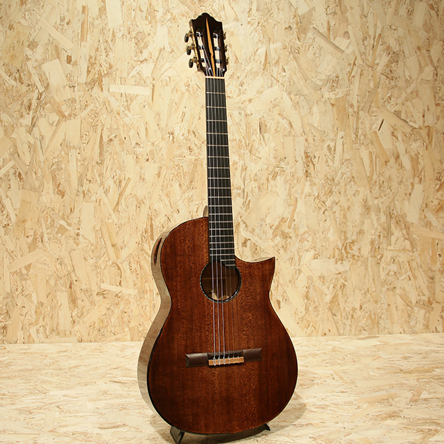 Ryosuke Kobayashi Guitars Nylon Crossover Electric RF European Maple 小林良輔 サブ画像2