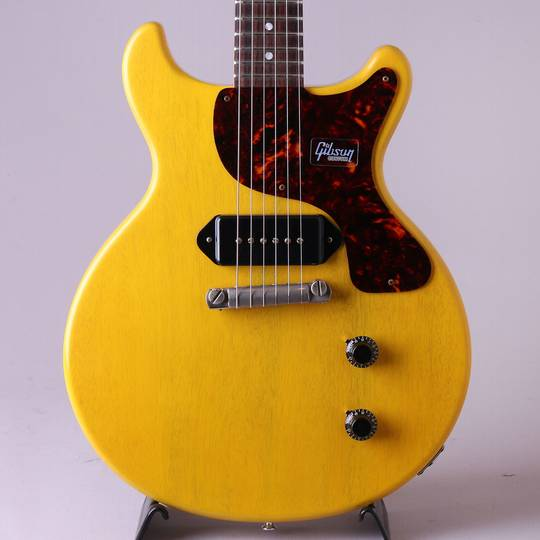 Japan Limited 1959 Les Paul Junior DC Bright TV Yellow Vintage Gloss S/N:992299
