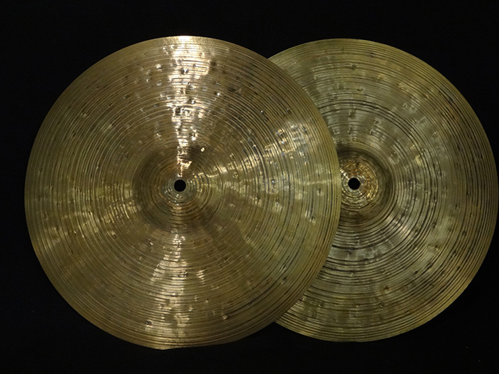 "30th Anniversary 14"" Hi hats Pair 688g&771g"
