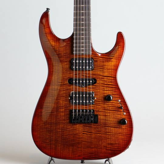 Marchione Guitars Carve Top Torrefied Figured Maple H-S-H Violin Burst マルキオーネ ギターズ