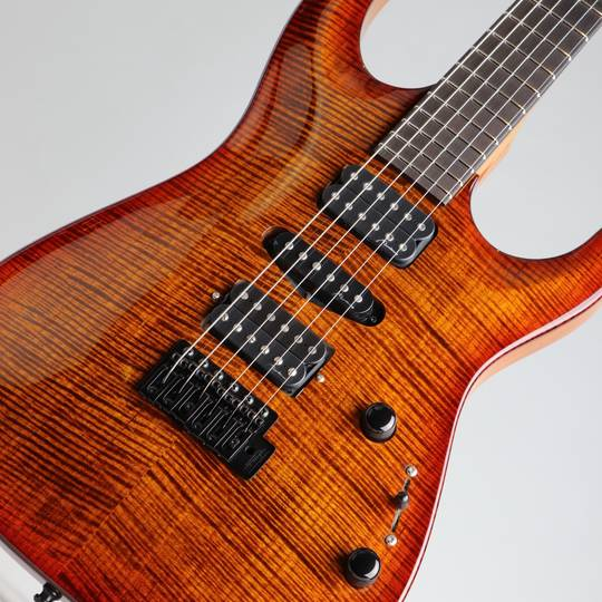 Marchione Guitars Carve Top Torrefied Figured Maple H-S-H Violin Burst マルキオーネ ギターズ サブ画像10