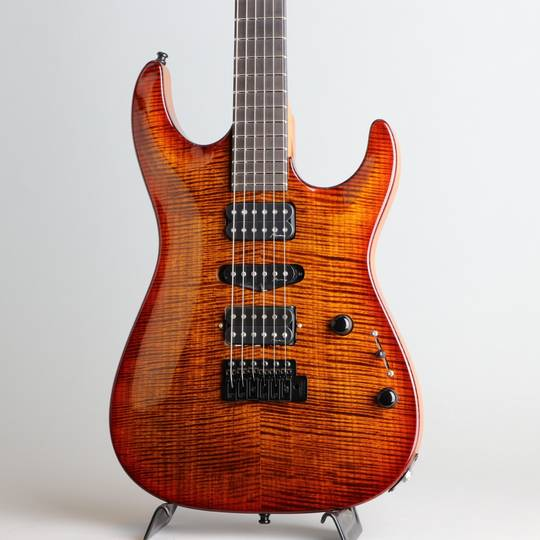 Marchione Guitars Carve Top Torrefied Figured Maple H-S-H Violin Burst マルキオーネ ギターズ サブ画像8