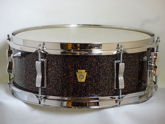"【VINTAGE・フルオリ】64' Pioneer Galaxy Pearl 14""×5,5"" Nickel Over Brass Hoops"