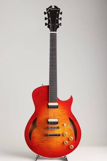 Marchione Guitars Semi Hollow Figured Maple Mahogany Cherry Burst マルキオーネ ギターズ サブ画像2