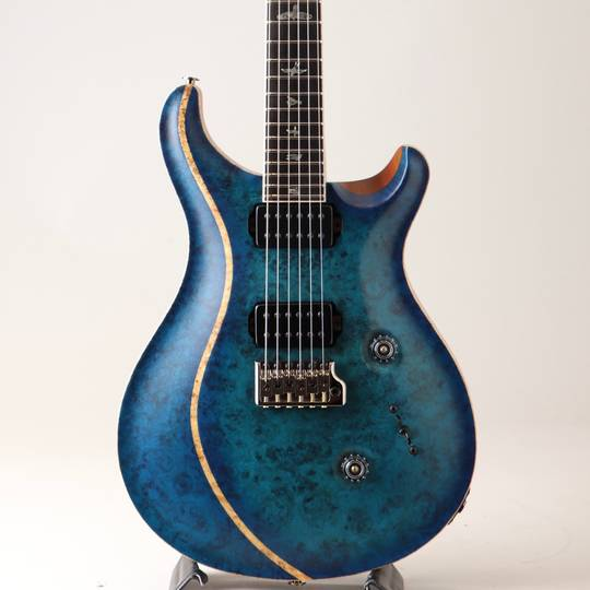 Private Stock #7663 Custom 24 Custom Body Inlay Direct Mount Royal Blue Burst