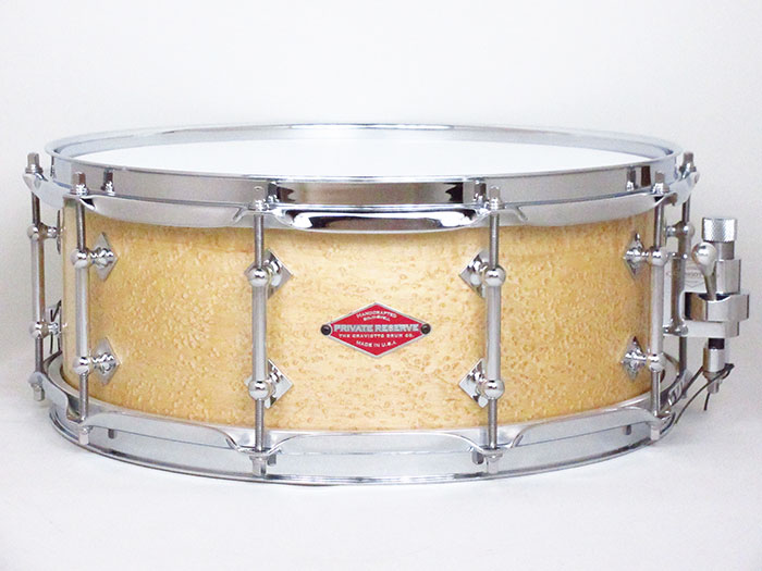 "Private Reserve AAA Birdseye Maple Solid Shell 14""×5.5"""