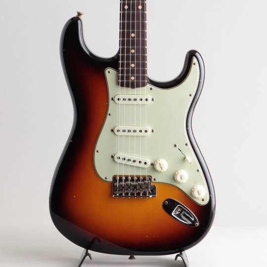 Limited Edition 62/63 Stratocaster Journeyman Relic/Faded 3-Color Sunburst