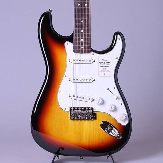 Made in Japan Traditional Late 60s Stratocaster/3-Color Sunburst/R