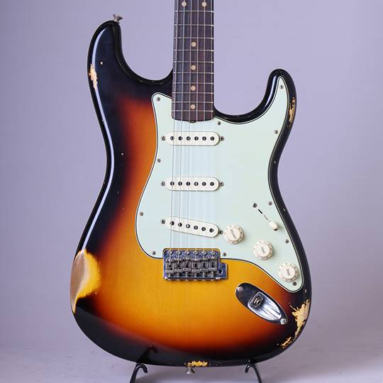 FENDER CUSTOM SHOP 62 Stratocaster Relic/Faded 3-Tone Sunburst【S/N:R94529】 フェンダーカスタムショップ