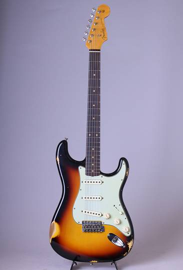 FENDER CUSTOM SHOP 62 Stratocaster Relic/Faded 3-Tone Sunburst【S/N:R94529】 フェンダーカスタムショップ サブ画像2