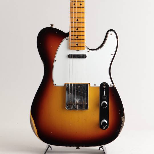 1965 Telecaster Custom Maple Cap Relic/Faded 3-Tone Sunburst【S/N:CZ550589】