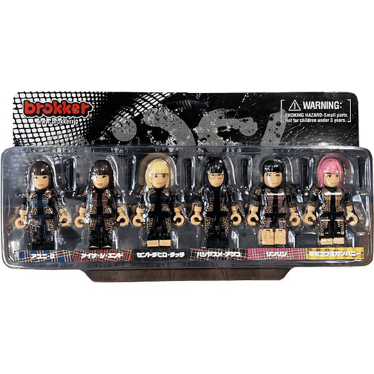 brokker/「BiSH」- Action Figure Toys for Musician