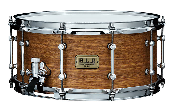 "LSG1465-SNG S.L.P. Snare Drum 14""x6.5"" Bold Spotted Gum"