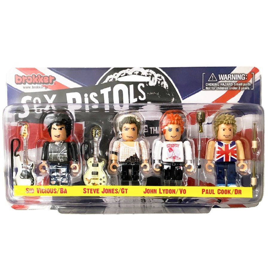 brokker / Sex Pistols - Action Figure Toys for Musician - ブロッカーフィギュア「セックスピストルズ」
