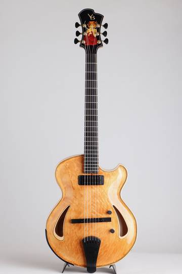 Victor Baker Guitars Model 14 Semi Hollow Special Edition ヴィクター ベイカー サブ画像2