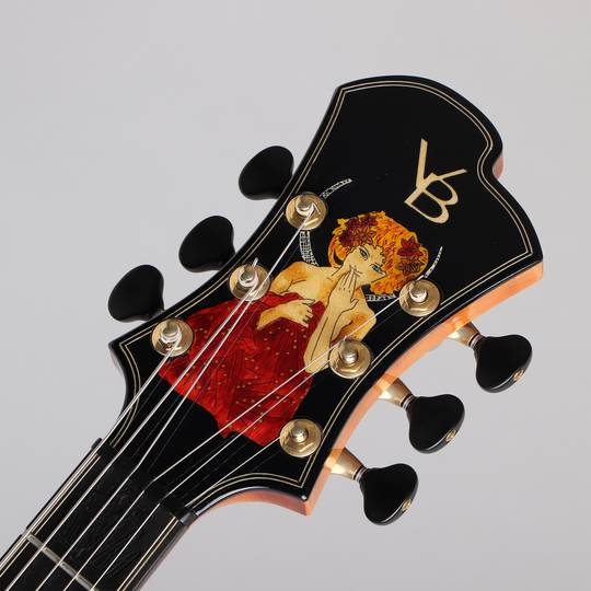 Victor Baker Guitars Model 14 Semi Hollow Special Edition ヴィクター ベイカー サブ画像4
