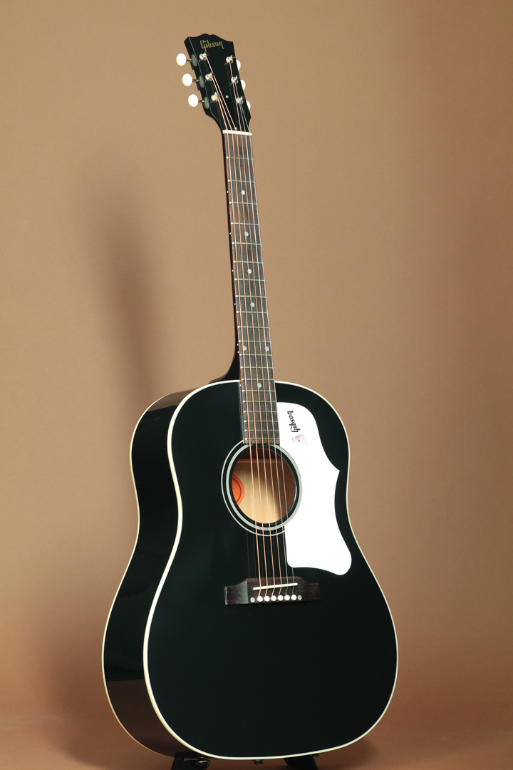1960's J-45 EBONY w/Straight Bone Bridge L.R.Baggs Element VTC