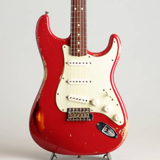 1963 Stratocaster Relic Multilayer Dakota Red Built By Dennis Galuszka 2013