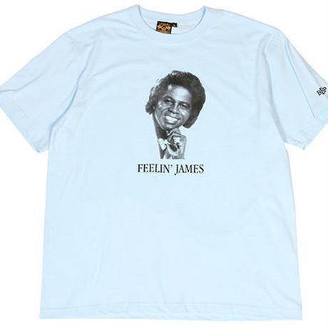 "James Brown x BBP ""Feelin' James"" Tee R.Blue"