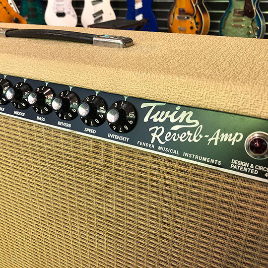 '65 Twin Reverb Blonde Wheat -Japan Limited Edition-