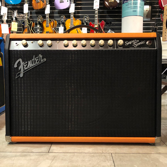"Super Sonic 22 Combo ""Two-Tone Blackened Orange"" FSR"