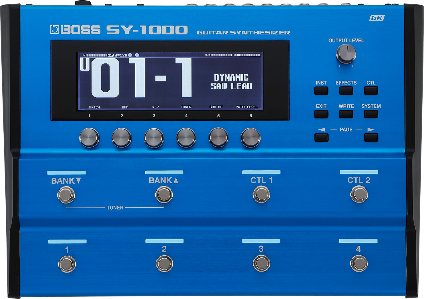 SY-1000 GUITAR SYNTHESIZER