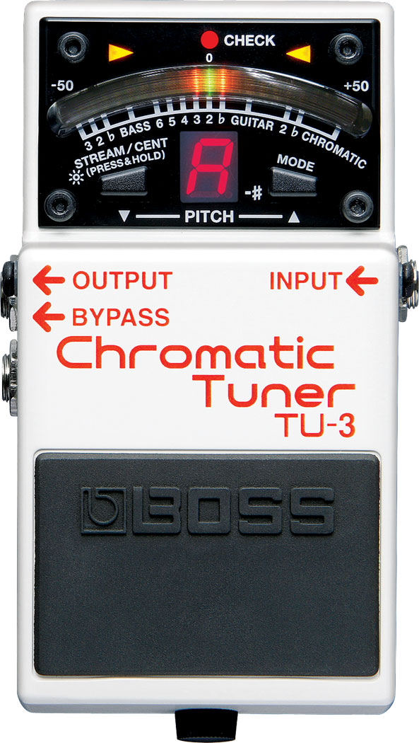 BOSS TU-3 CHROMATIC TUNER ボス